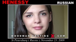 Download Henessy casting video files. Pierre Woodman undress Henessy, a Russian girl.