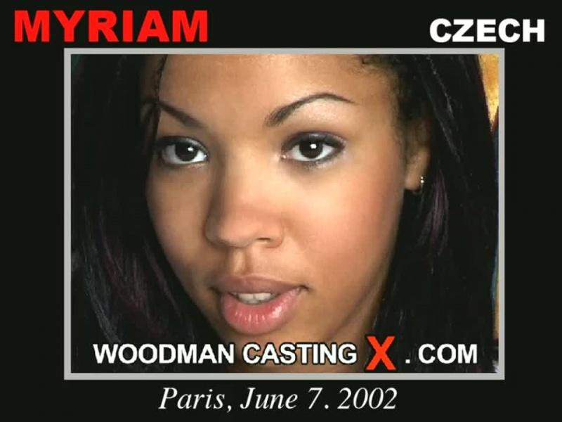Myriam Woodman Casting X
