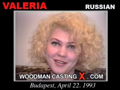 Watch Valeria first XXX video. Pierre Woodman undress Valeria, a Russian girl.