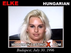 Download Elke casting video files. Pierre Woodman undress Elke, a Hungarian girl.
