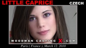 Check out this video of Little Caprice having an audition. Erotic meeting between Pierre Woodman and Little Caprice, a Slovak girl.