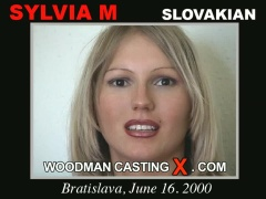 Download Sylvia M casting video files. Pierre Woodman undress Sylvia M, a Slovak girl.