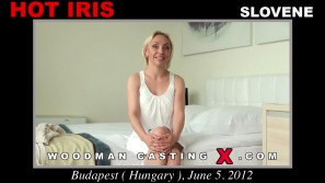 Watch our casting video of Hot Iris. Erotic meeting beween Pierre Woodman and Hot Iris, a Slovenian girl.