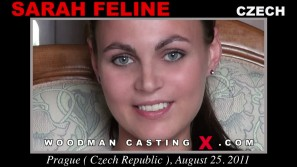 Watch Sarah Feline first XXX video. Pierre Woodman undress Sarah Feline, a Czech girl.