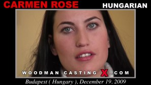 Look at Carmen Rose getting her porn audition. Pierre Woodman fuck Carmen Rose, Hungarian girl, in this video.