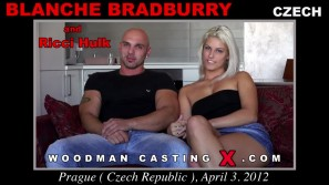 Watch Blanche Bradburry first XXX video. A Czech girl, Blanche Bradburry will have sex with Pierre Woodman.