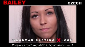 Access Bailey casting in streaming. Pierre Woodman undress Bailey, a Czech girl.
