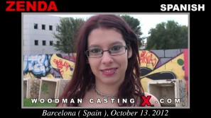 Download Zenda casting video files. A Spanish girl, Zenda will have sex with Pierre Woodman.