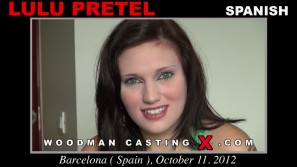 Check out this video of Lulu Pretel having an audition. Erotic meeting between Pierre Woodman and Lulu Pretel, a Spanish girl.