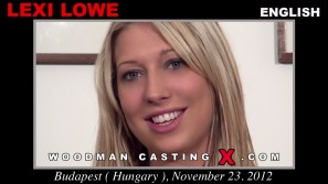 Download Lexi Lowe casting video files. Pierre Woodman undress Lexi Lowe, a English girl.