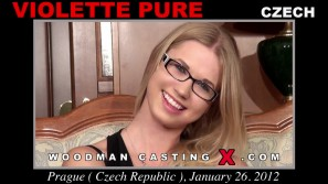 Check out this video of Violette Pure having an audition. Pierre Woodman fuck Violette Pure, Czech girl, in this video.