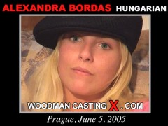 Look at Alexandra Bordas getting her porn audition. Erotic meeting between Pierre Woodman and Alexandra Bordas, a Hungarian girl.