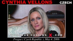 Watch our casting video of Cynthia Vellons. Erotic meeting between Pierre Woodman and Cynthia Vellons, a Czech girl.