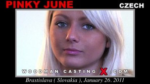 Watch Pinky June first XXX video. Pierre Woodman undress Pinky June, a Czech girl.