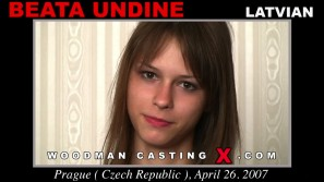Watch our casting video of Beata Undine. Pierre Woodman fuck Beata Undine, Latvian girl, in this video.