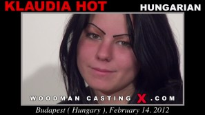 Download Klaudia Hot casting video files. Pierre Woodman undress Klaudia Hot, a Hungarian girl.