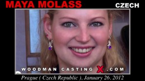 Access Maya Molass casting in streaming. A Czech girl, Maya Molass will have sex with Pierre Woodman.