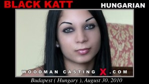 Watch Black Katt first XXX video. Pierre Woodman undress Black Katt, a Hungarian girl.