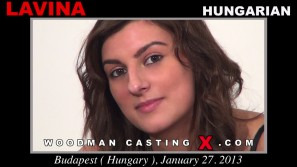 Watch Lavina first XXX video. A Hungarian girl, Lavina will have sex with Pierre Woodman.