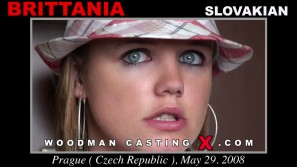 Download Brittania casting video files. A Slovak girl, Brittania will have sex with Pierre Woodman.