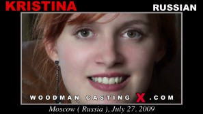 Access Kristina casting in streaming. A Russian girl, Kristina will have sex with Pierre Woodman.