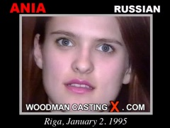 Watch Ania first XXX video. Pierre Woodman undress Ania, a Russian girl.