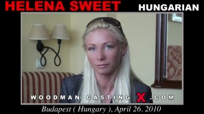 Look at Helena Sweet getting her porn audition. Erotic meeting between Pierre Woodman and Helena Sweet, a Hungarian girl.