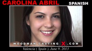 Watch Carolina Abril first XXX video. Pierre Woodman undress Carolina Abril, a  girl.