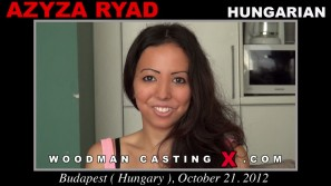 Watch our casting video of Azyza Ryad. Erotic meeting between Pierre Woodman and Azyza Ryad, a  girl.