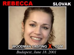 Look at Rebecca getting her porn audition. Pierre Woodman fuck Rebecca, Slovak girl, in this video.