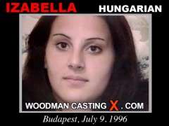 Check out this video of Izabella having an audition. Erotic meeting between Pierre Woodman and Izabella, a Hungarian girl. 
