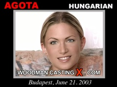 Access Agota casting in streaming. A Hungarian girl, Agota will have sex with Pierre Woodman. 