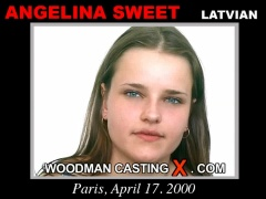 Check out this video of Angelina Sweet having an audition. Erotic meeting between Pierre Woodman and Angelina Sweet, a Latvian girl.